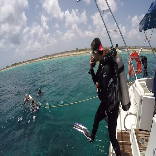 sail and dive on Bonaire