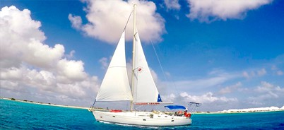Sailing charter on bonaire