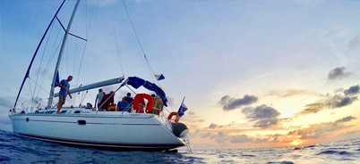 private sailing charter on bonaire