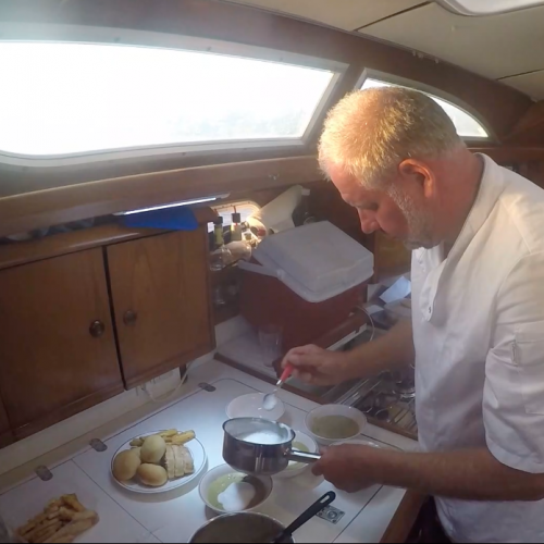 Dinner at sea Private Chef